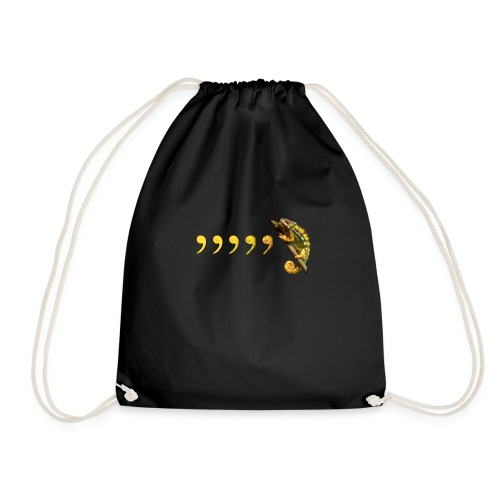 Comma Chameleon - Drawstring Bag