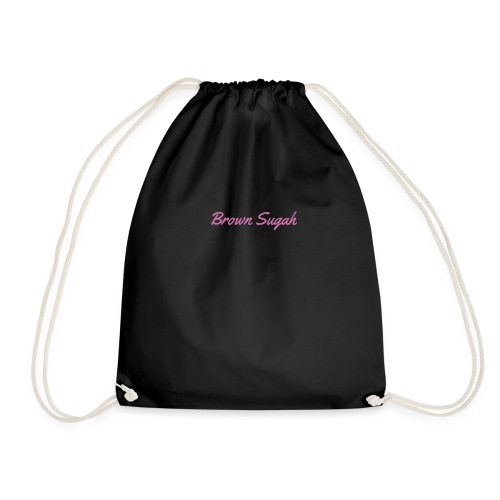 Brown sugah - Drawstring Bag
