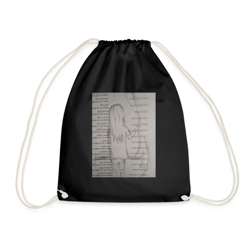 Longing Girl - Drawstring Bag