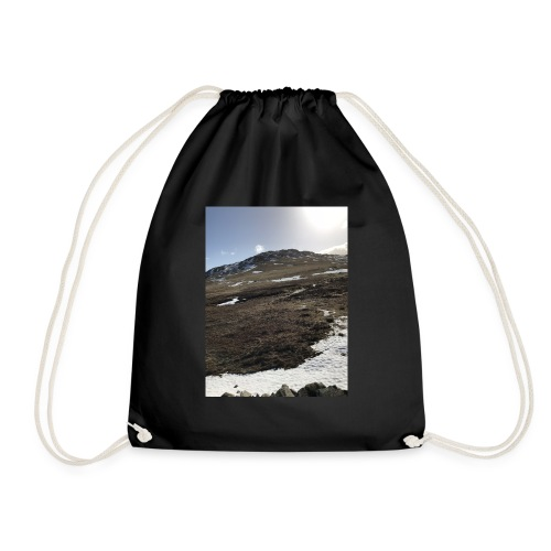 winter in The Lakes - Drawstring Bag