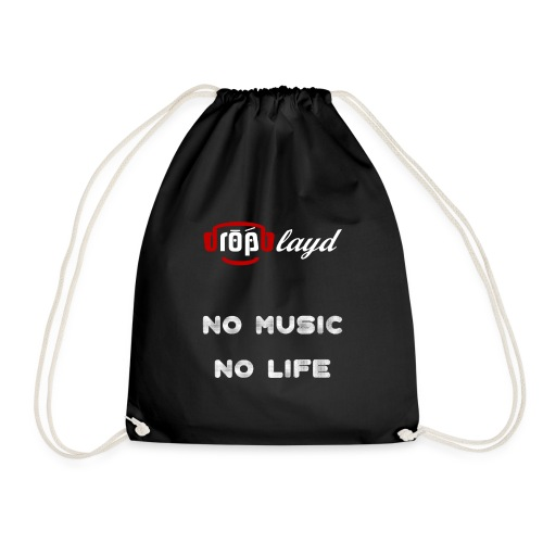 dropblayd Merch - No Music No Life - Turnbeutel