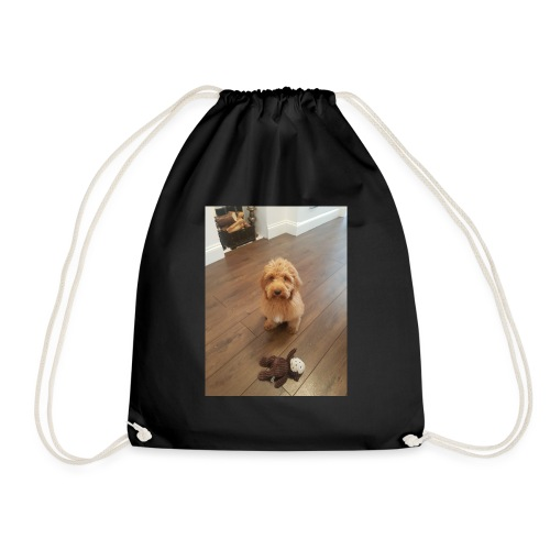 Teddy boy is here come and buy this - Drawstring Bag