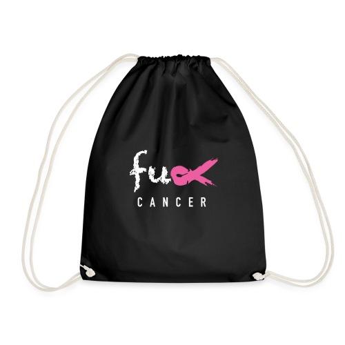 fck cancer fazt - emblem - Gymnastikpåse