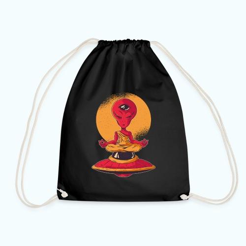 Alien meditation - Drawstring Bag