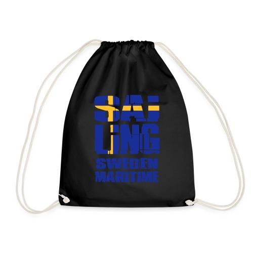 Sweden Maritime Sailing - Drawstring Bag