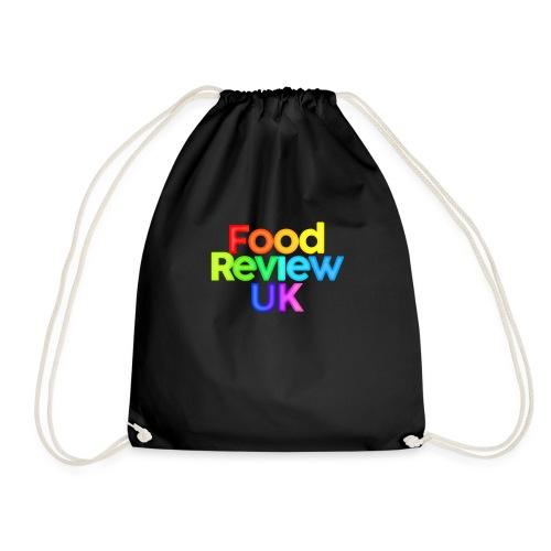 Food Review UK Logo Rainbow Variant - Drawstring Bag