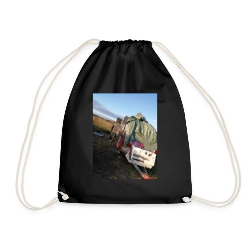Kläder med vagnen på - Gymnastikpåse