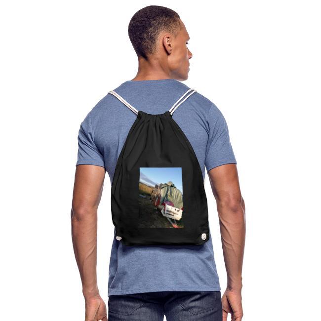 Kläder med vagnen på