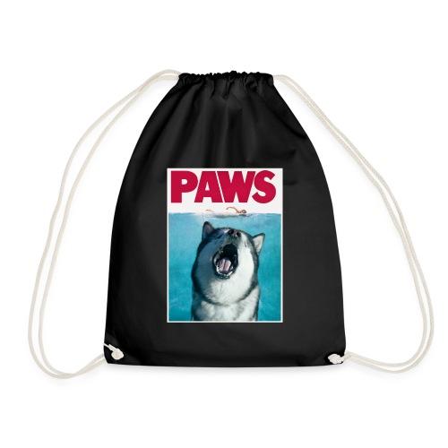 paws Alaskan Malamute - Drawstring Bag