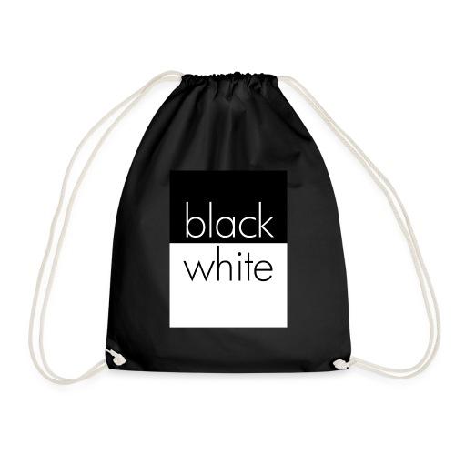 black and white - Turnbeutel