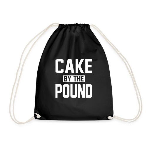 Cake by the Pound - Drawstring Bag