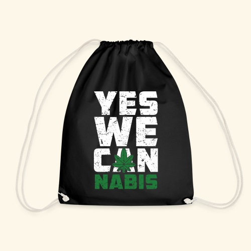 Yes We Can(nabis) - 420 Times - Turnbeutel
