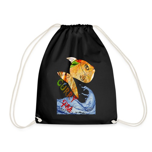 CURRY FISH HEAD - Drawstring Bag