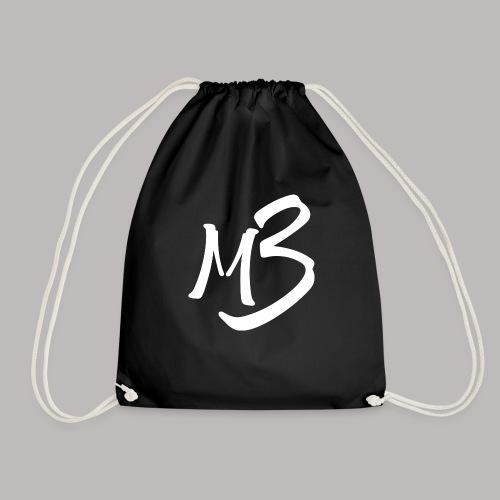 MB 13 white - Drawstring Bag