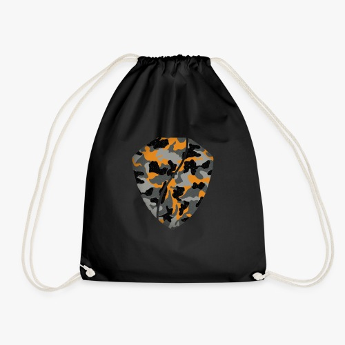 Urban camouflage special orange/black. - Mochila saco
