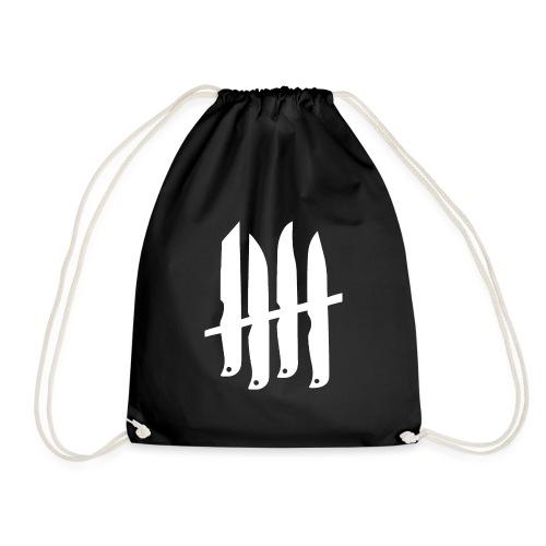 KNIVES OUT RECORDS Logo W - Sac de sport léger