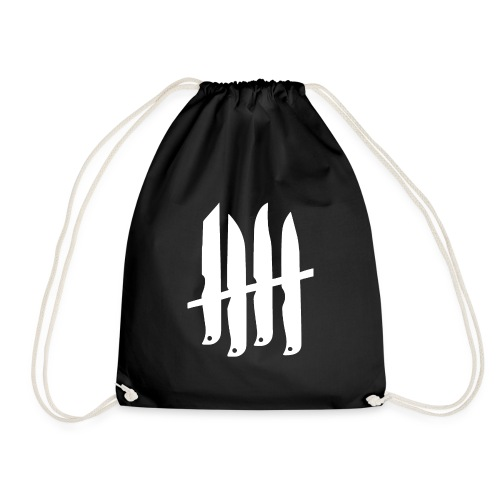 KNIVES OUT RECORDS Logo W - Sac de sport léger