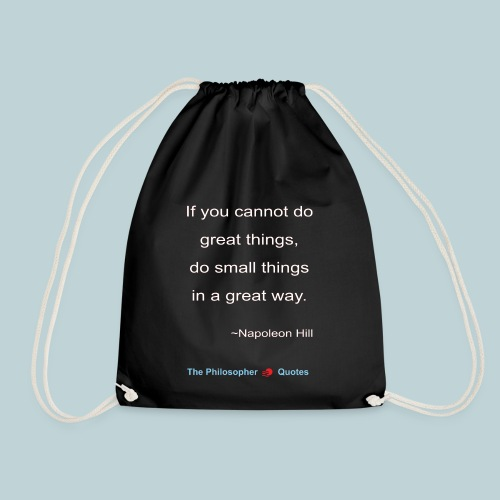 Napoleon Hill Do small things in a great way Philo - Gymtas