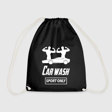 carwashsport wite - Drawstring Bag