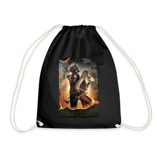 Rapeel and Terrina from Black Guild - Drawstring Bag