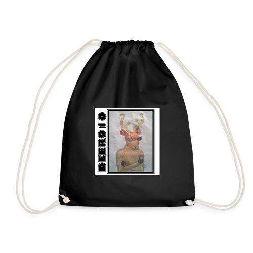 DEER910 #2 - Drawstring Bag