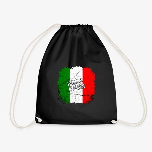Proud Italian Stolzer Italiener Italienerin - Turnbeutel