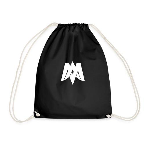 Mantra Fitness Slim Fit T-Shirt (Black) - Drawstring Bag