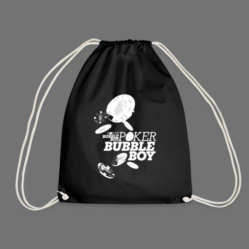 Poker - Bubble Boy (white) - Drawstring Bag