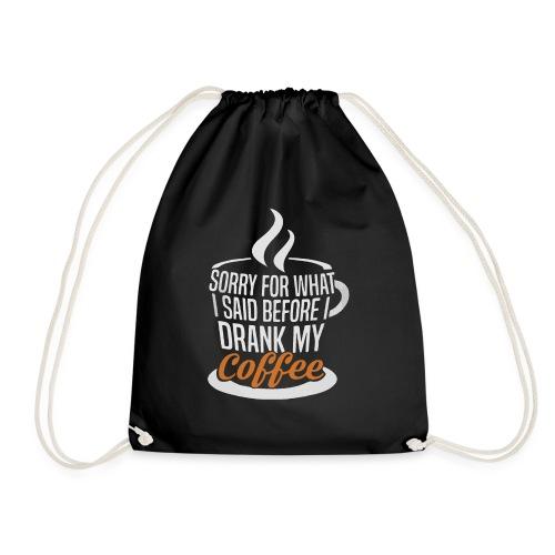 Sorry... - Drawstring Bag