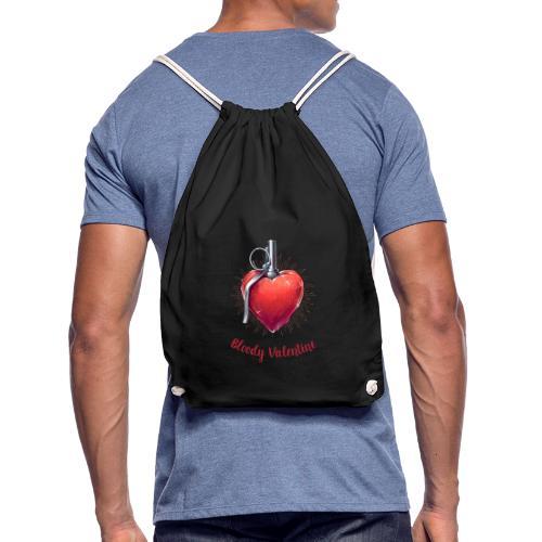 Bloody Valentine Design - Valentinstag Geschenk - Turnbeutel