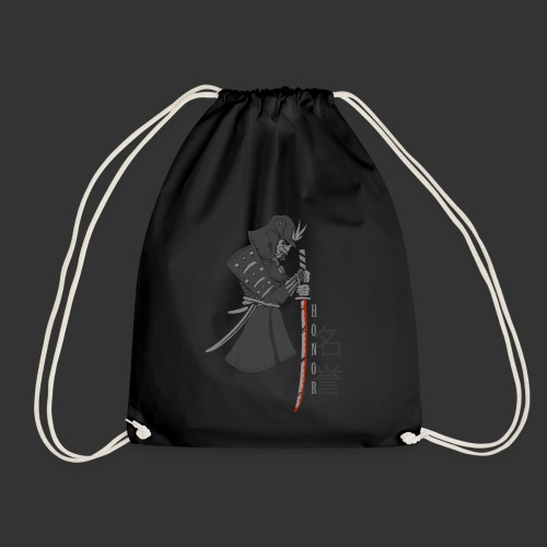 Samurai Digital Print - Drawstring Bag