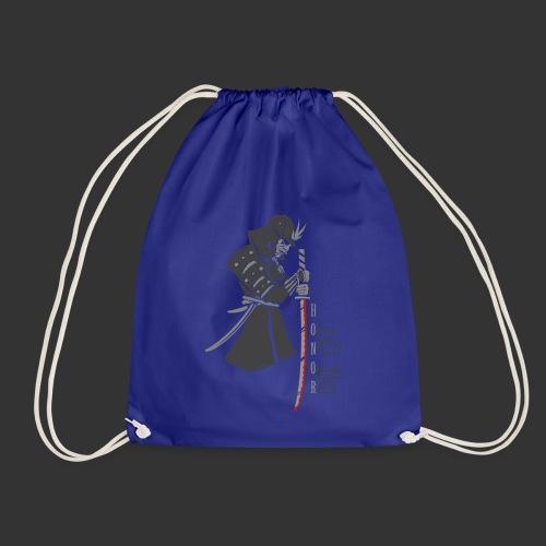 Samurai Digital Print - Drawstring Bag