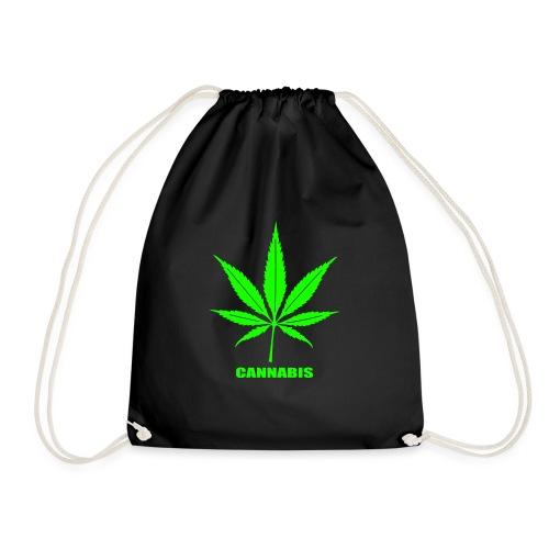 cannabis, cannabis community, amsterdam, art, love - Drawstring Bag
