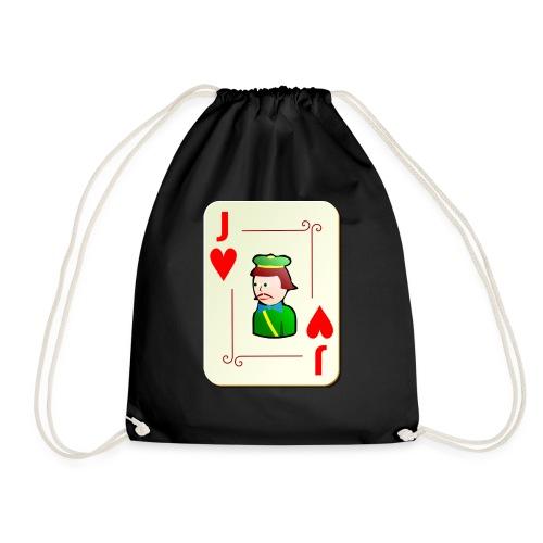 Jack Hearts png - Drawstring Bag