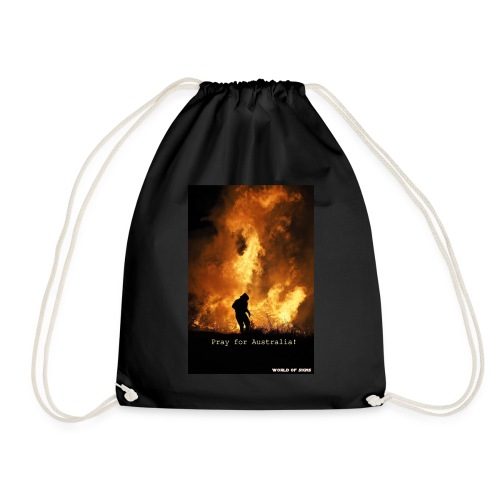 Pray for Australia! - Drawstring Bag