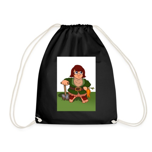 Petal's Potted Preserve - Drawstring Bag