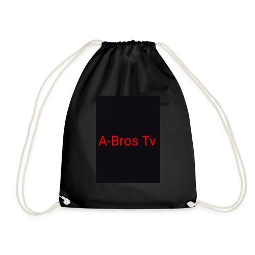 A-Bros Tv red - Turnbeutel