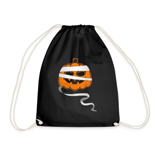 Halloween Bandaged Pumpkin - Turnbeutel
