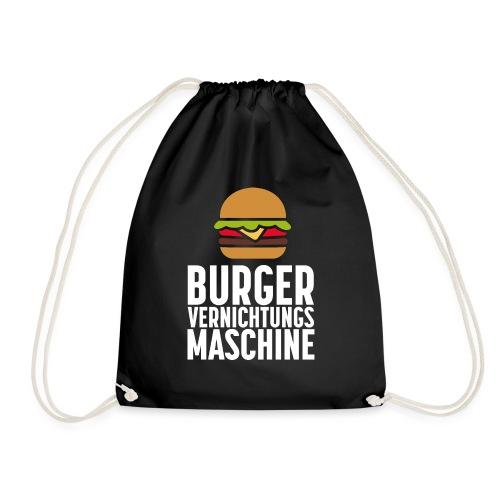Burger Fanshirt Hamburger Grillen Burgerfreak - Turnbeutel