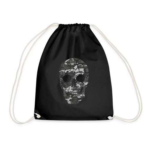 Skull Camou - Turnbeutel