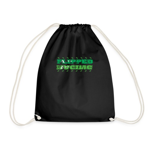 Flipped Racing, A-Plus No Logo - Drawstring Bag