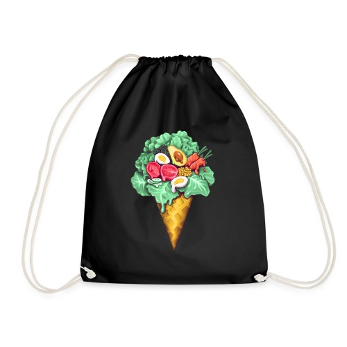 Ice Cream Salad - Drawstring Bag