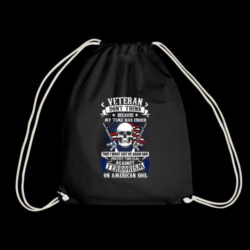 Veteran soldier terror terrorism skull army usa us - Turnbeutel