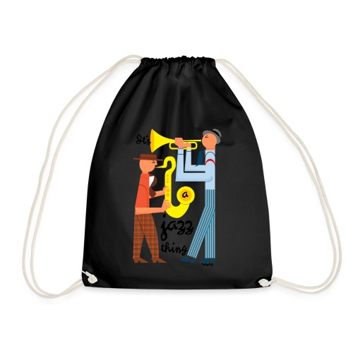 Jazz thing - Drawstring Bag