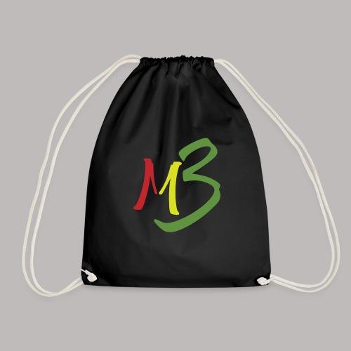 MB13 Logo rasta1 - Drawstring Bag