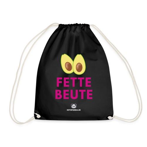 Fette Beute (dunkel) - Turnbeutel