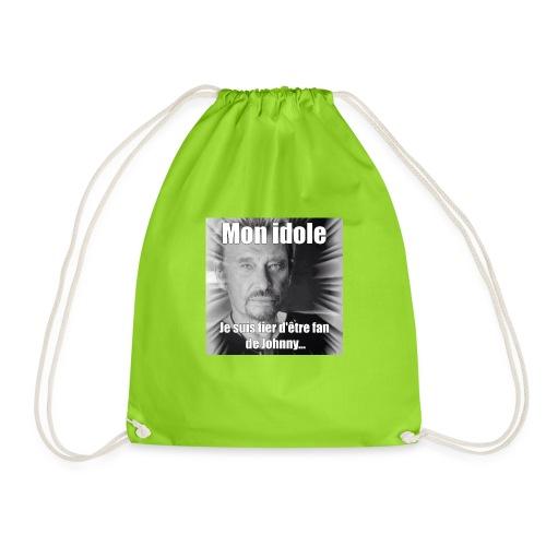 Mon idole Johnny Hallyday - Sac de sport léger