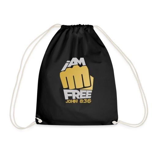I Am Free - Drawstring Bag