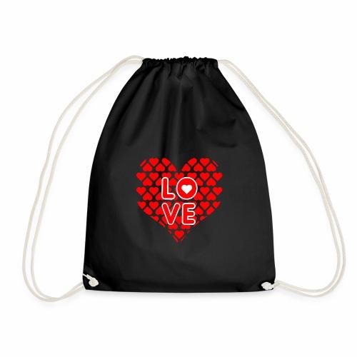 Liebe Valentienstag - Turnbeutel