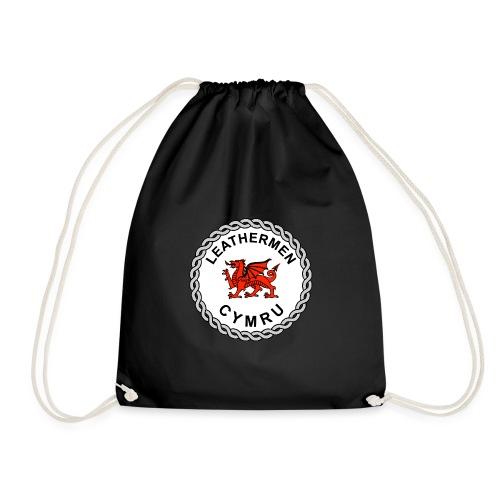 LeatherMen Cymru Logo - Drawstring Bag
